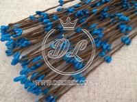 Веточка 40 см , синяя