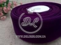 Органза 4 см , чернильно-фиолетовая