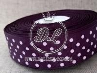 Репс в Горох 0.9 см, чернильно-фиолетовый  171
