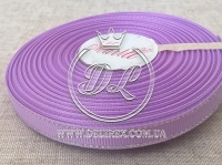 Репс с люрексом 0.9 см (серебро), св.фиолетовый