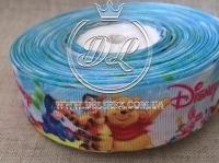 Репс 2.5 см Винни Пух -Disney на голубом
