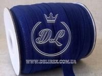 Бейка 1.5 см Блеск, темно-синяя (25 м.)