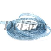 Парча 0.6 см, голубая