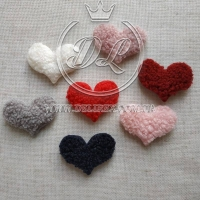 Апликация Сердечка-барашка