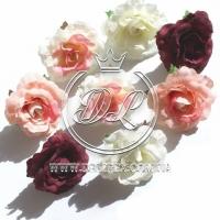 Роза ткань - 4.5 см