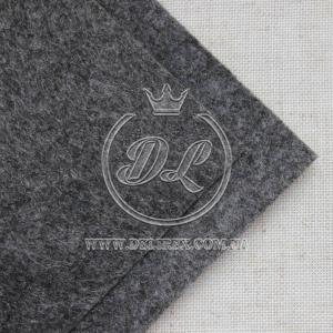 Фетр 1 мм, темно-серый
