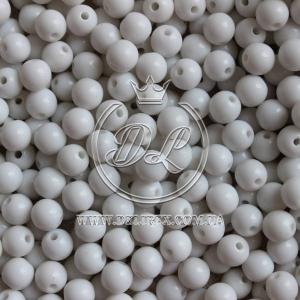 Жемчуг АКРИЛ 12 мм, белые VIP