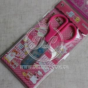 Ножнички маленькие детские, розовые
