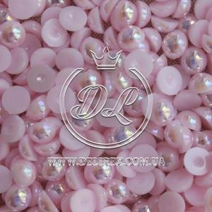 П-сы перламутровые 8 мм, бледно-розовые- 2000 шт.