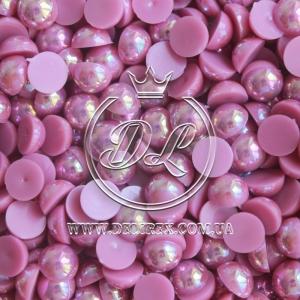 П-сы перламутровые 8 мм, фиолетово-малиновые- 2000 шт.