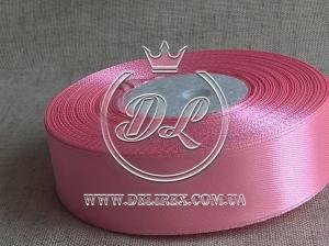 Атлас 2 см ,ярко-розовый  05