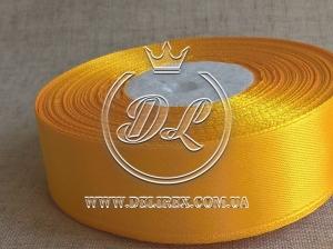 Атлас 0.9 см , темно-желтый  112