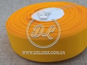 Репс 2.5 см, темно-желтый 16
