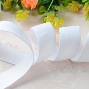 Резинка швейная 2 см, белая