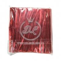 Проволочные завязки 10 см Twist tie, красные
