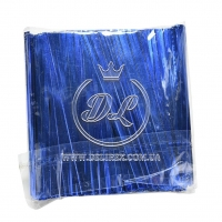 Проволочные завязки 10 см Twist tie, синие