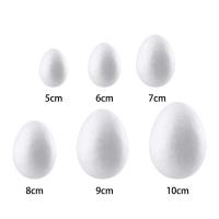 Яйцо пенопластовое 8 см.-10 шт.