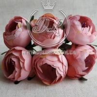 Пионы с тычинками, розово-пудровые (малин.тычинка) № 17