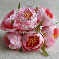 Пионы с тычинками, розовые № 27
