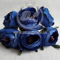 Пионы с тычинками, темно-синие (малин. тычинка) №46...