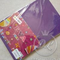 Набор 2 мм  фоамирана, темно-фиолетовый