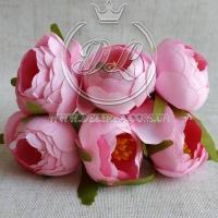 Пионы с тычинками, ярко-розовые № 27