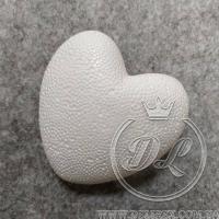 Пенопластовое сердце, 9 см, УПАКОВКА 10 шт.