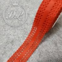 Репс 3.5 см, Дорожка перфорированная, красная