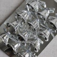 Колокольчики 2.5 см, серебро