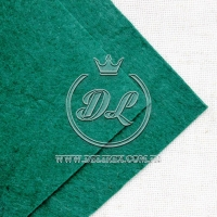 Фетр 1 мм, темно-зелёный