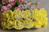 Роза  из Фома 1.5 см, желтая