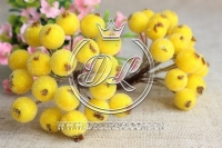 Калина в сахаре , желтая