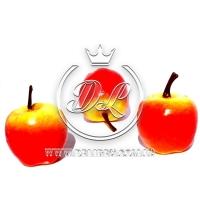 Яблоко большое желто-красное -50 шт.