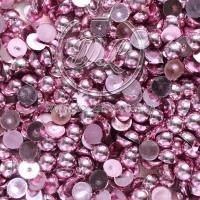 П-Сы глянцевые 8 мм, грязно-розовые