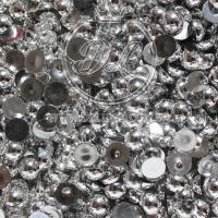П-Сы глянцевые 8 мм, серебро