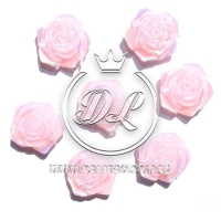 С-ка ТВ роза перламутр, розовая (100 шт.)