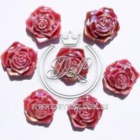 С-ка ТВ роза перламутр,бордовая (100 шт.)