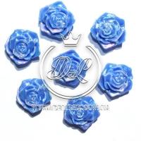 С-ка ТВ роза перламутр, темно-синяя (100 шт.)