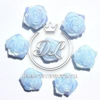 С-ка ТВ роза перламутр, голубая (100 шт.)
