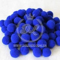 Помпоны 2 см VIP, темно-синие