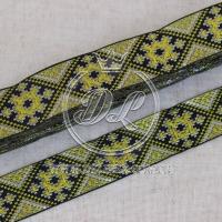 УКР.орнамент 2.8 см, св.оливковый