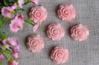 С-ка роза акрил 2 см , нежно-розовая