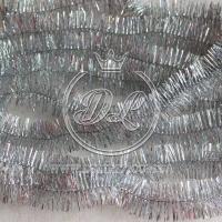 Дождик на ёлку, серебро (перламутр)