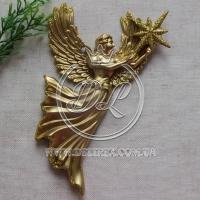 Ангелочек 16 см, чисто-золотистый -1 шт.