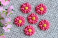 С-ка хризантемка 1.5 см , ярко-розовая