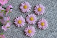 С-ка хризантемка 2 см, розовая