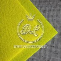 Фетр 1 мм,  желтый