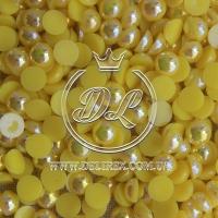 П-сы перламутровые 8 мм, желтые- 2000 шт.