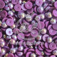 П-сы перламутровые 8 мм, очень-темно-фиолетовые- 2000 шт.