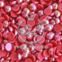 П-сы перламутровые 8 мм, красные - 2000 шт.